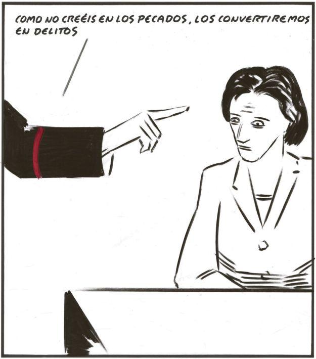 Viñeta del El Roto para El País.