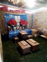 Velación en casa de familiares en Xesiguan, Panicuy, Pachay Las Lomas, San Martin Jilotepeque (Chimaltenango)