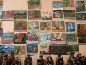 """Placas de agradecimientos por """"milagros concedidos"""""""