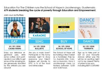 Parte trasera del flyer_Eventos Guatemala