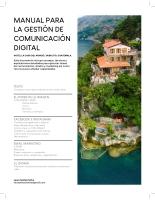 Manual para la gestión de comunicación digital
