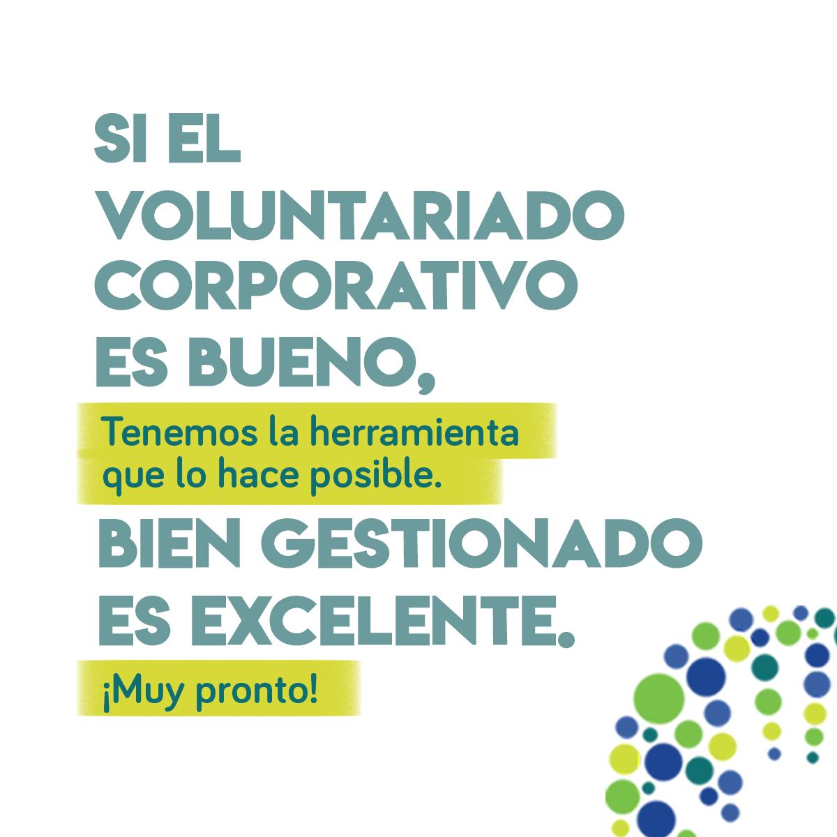 post redes sociales voluntariado corporativo